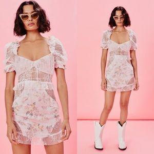 For Love and Lemons Nola Mini Dress